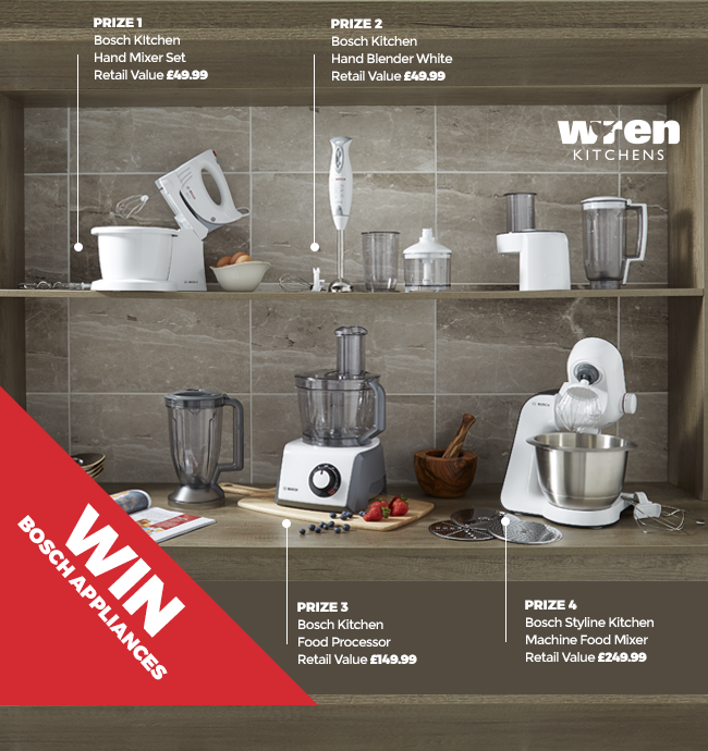 Wren Kitchen British Bake-Off Bosch Giveaway