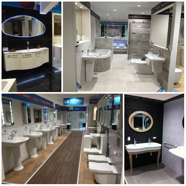 Wren Bathrooms Display In Poole Showroom