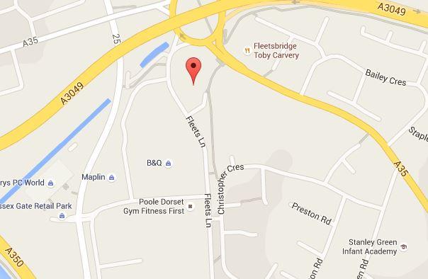 Wren Kitchens Map Poole Showroom Fleets Lane