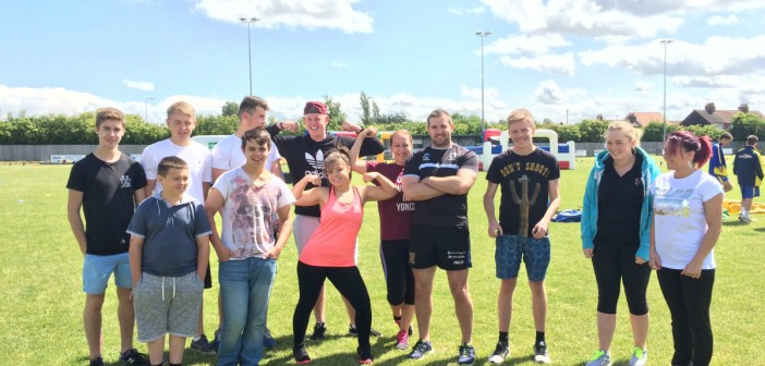 Wren Warriors Compete in Charity Competition