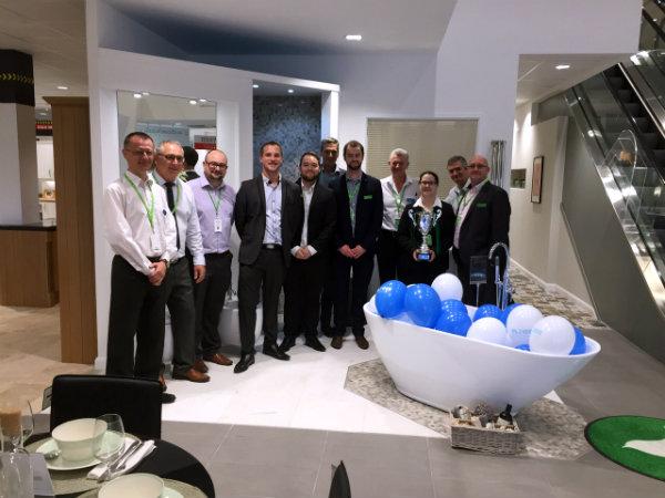 Wren Bathroom Team at Showroom Launch