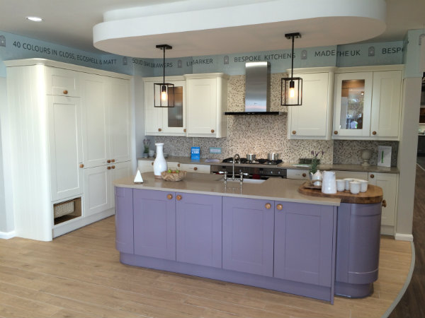 Linda Barker Kitchen in Damson