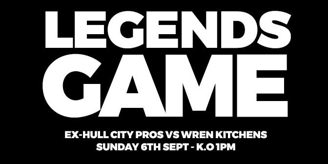 Charity Football Match Wren Kitchens Verses Hull City
