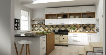 Wren Timeless Linda Barker Shaker Kitchen Super White