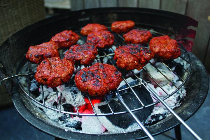 Linda Barker's BBQ Lamb Burger Recipe