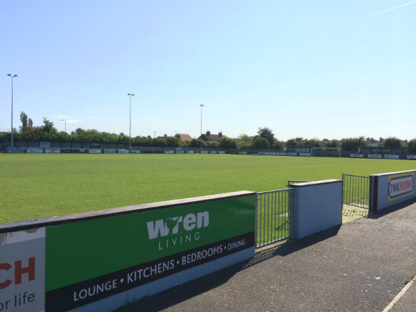 Barton town Football Ground