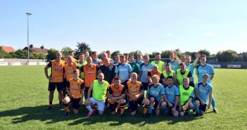 Wren Kitchens Verses Hull City Legends Football Match