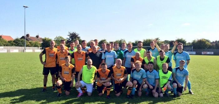 Wren Kitchens Verses Hull City Legends Football Match
