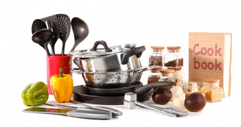 Cooking Equipment and Utensils for Student Kitchen