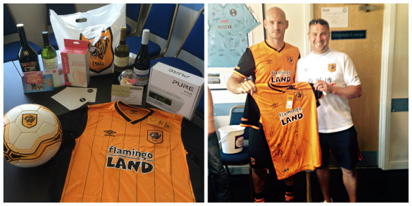 Hull City Charity Raffle Giveaway