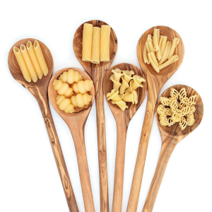 Wooden Spoons and Pasta