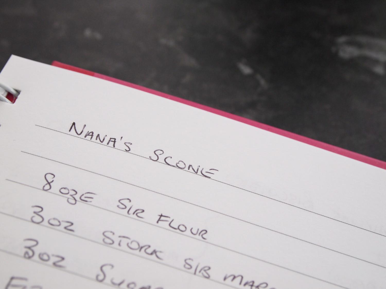 Nana's homemade scones