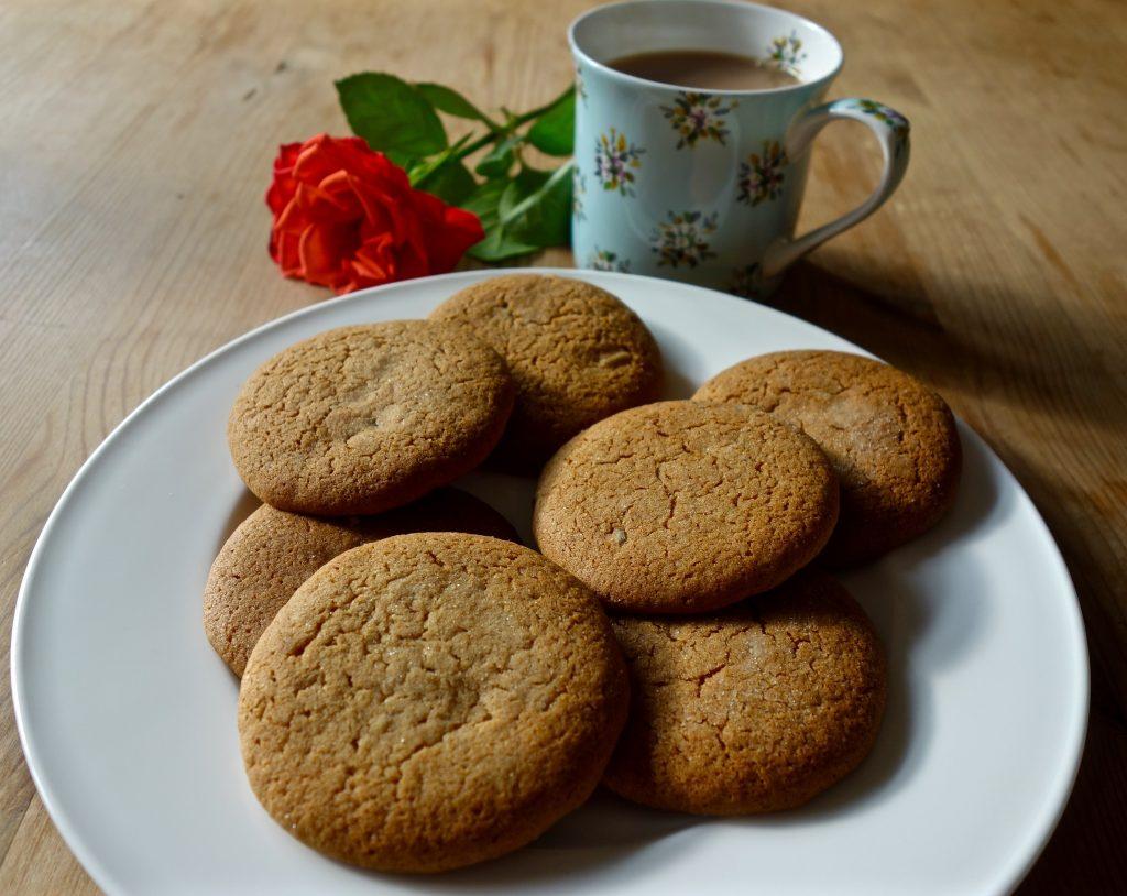 Nostalgic Ginger Biscuits