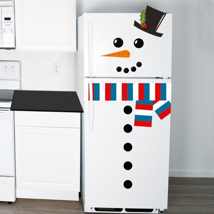 Frosty the fridge snowman