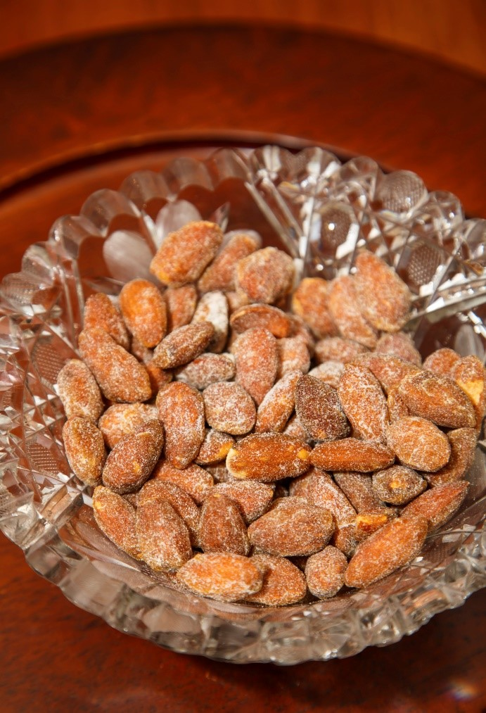 Guilt-free roasted almonds