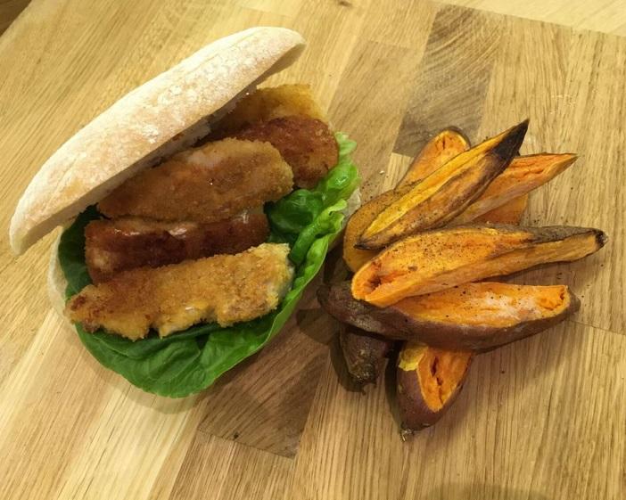 Linda Barker's fish finger sandwich recipe