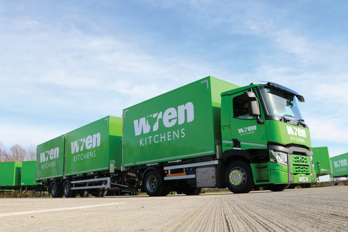 Wren Kitchens Road Train