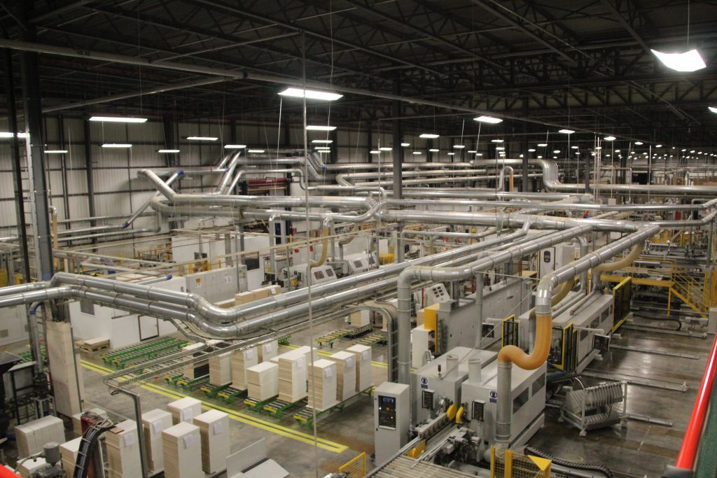 Wren Kitchens manufacturing facilities