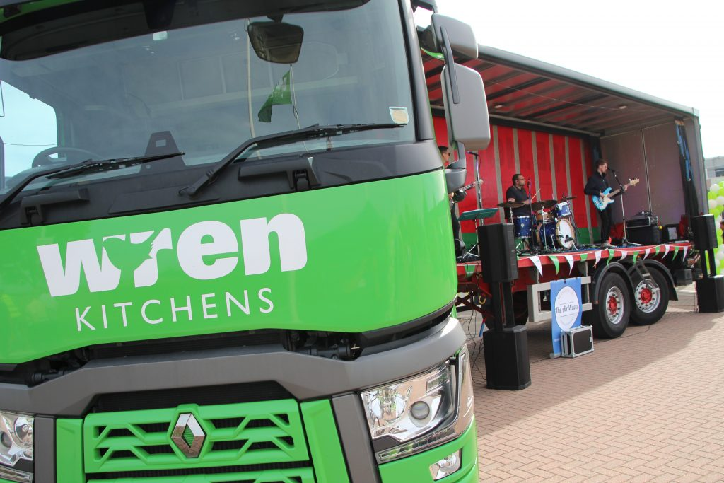 Entertainment at Wren Kitchens Open Day