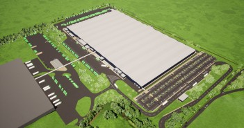 Artist's impression of Wren Kitchens manufacurting facility