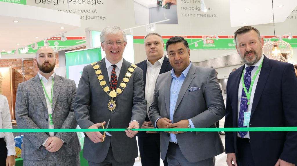 Shrewsbury Showroom Opening Ribbon Cutting