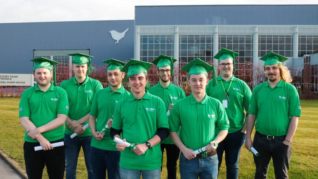 IT graduation at Wren Kitchens