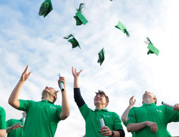 Wren Kitchens IT graduates celebrate
