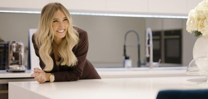 Megan McKenna's Glamorous Kitchen Makeover Revealed