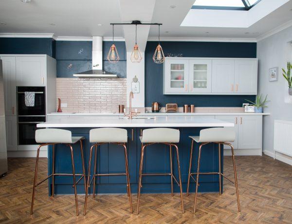 Rose gold kitchen ideas