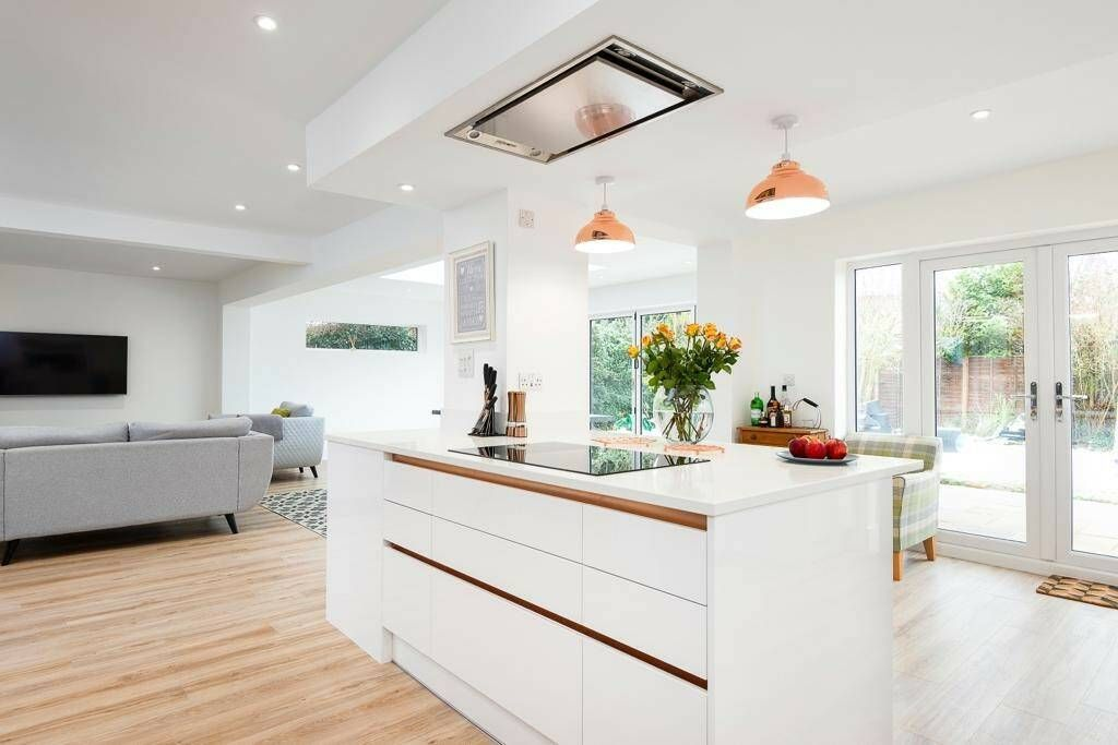 Kitchen extension with natural light