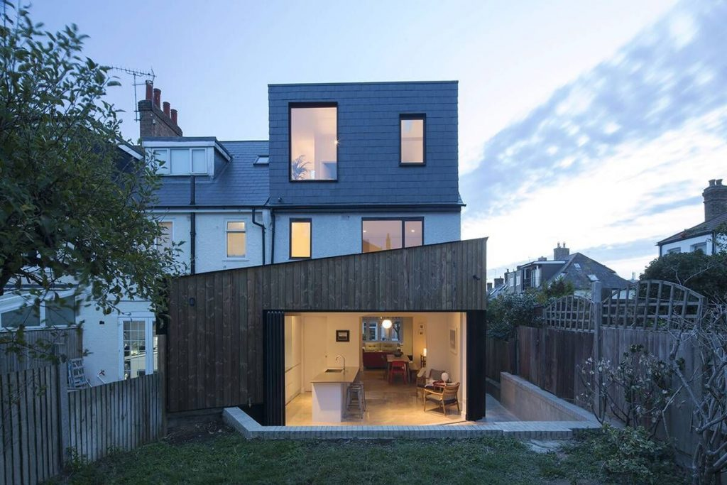 Kitchen extension with planning persmission