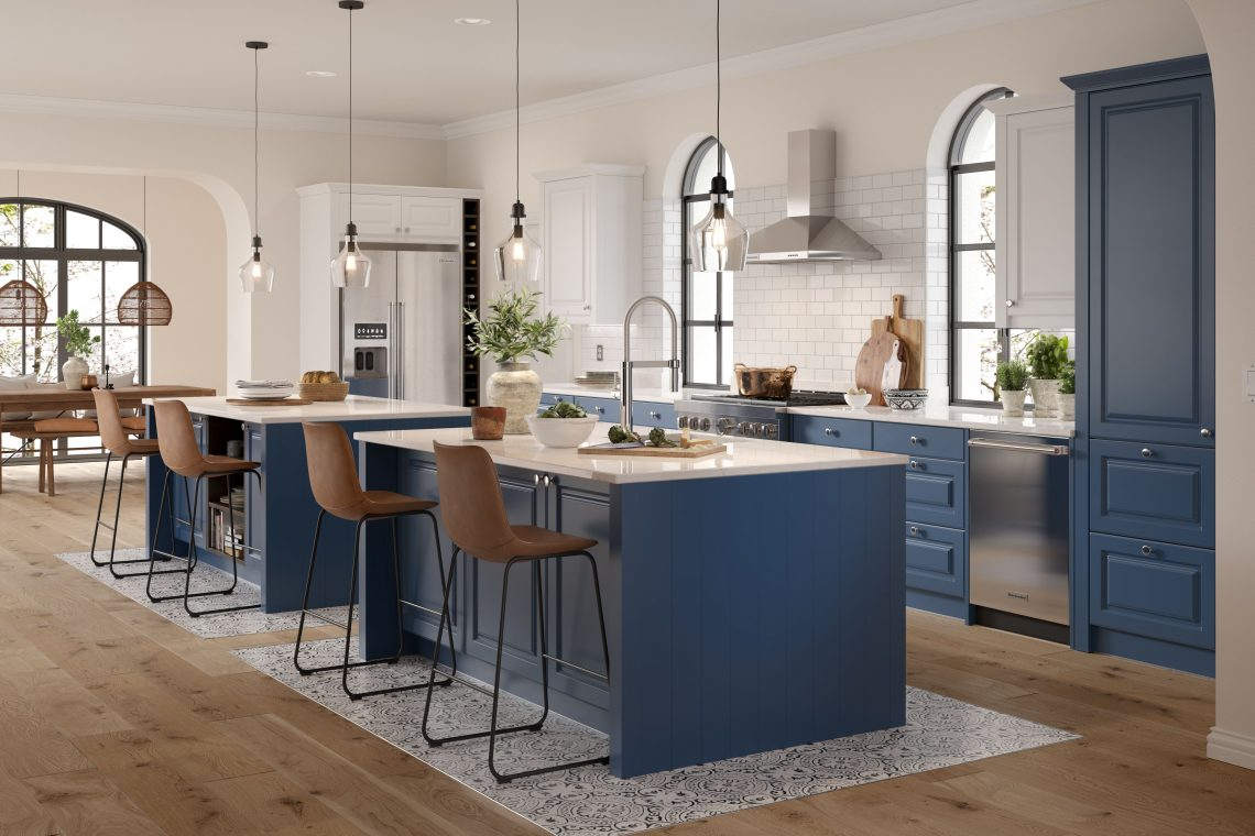 The Double Kitchen Island Trend Wren Kitchens Us
